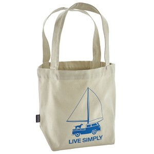 Patagonia Mini Tote in LS Wind Powered:Bleached Stone