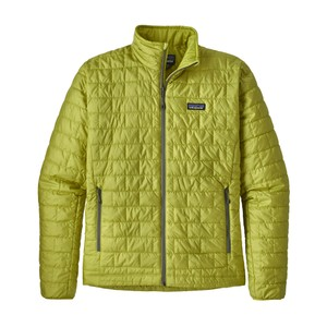 Patagonia Nano Puff Jacket Mens in Folios Green