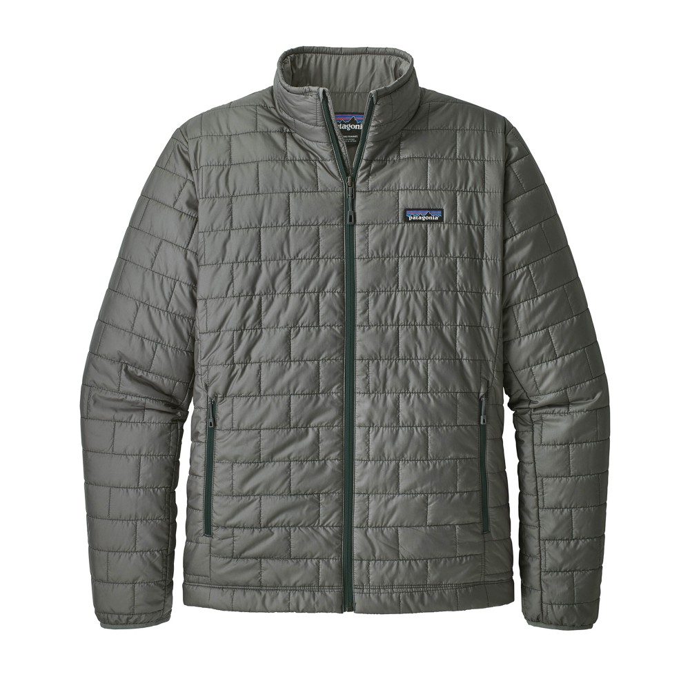 Patagonia Nano Puff Jacket Mens Cave Grey