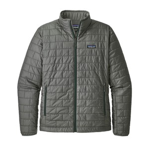 Patagonia Nano Puff Jacket Mens in Cave Grey