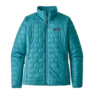 Patagonia Nano Puff Jacket Womens in Mako Blue