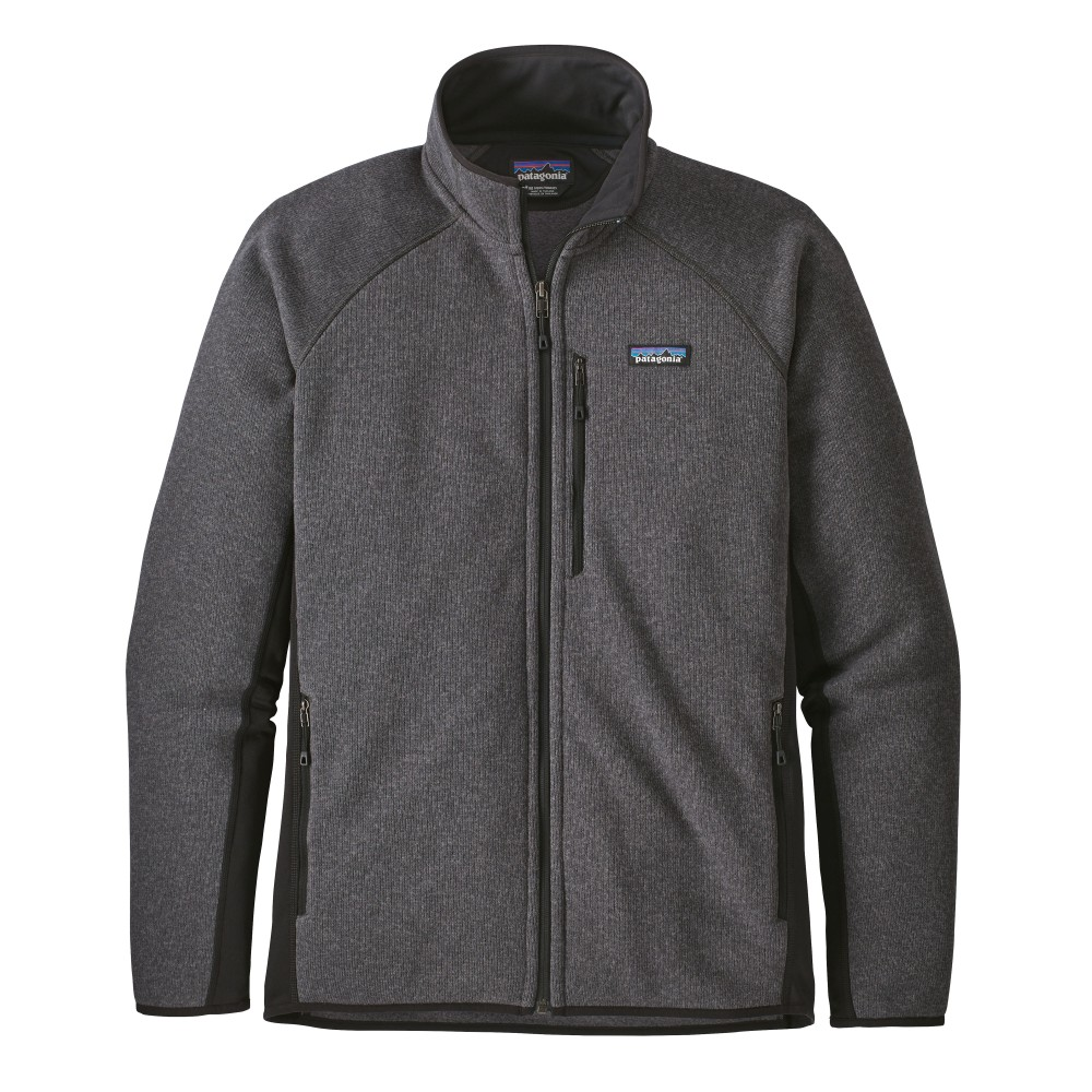 Patagonia Performance Better Sweater Jacket Mens Forge Grey/Black