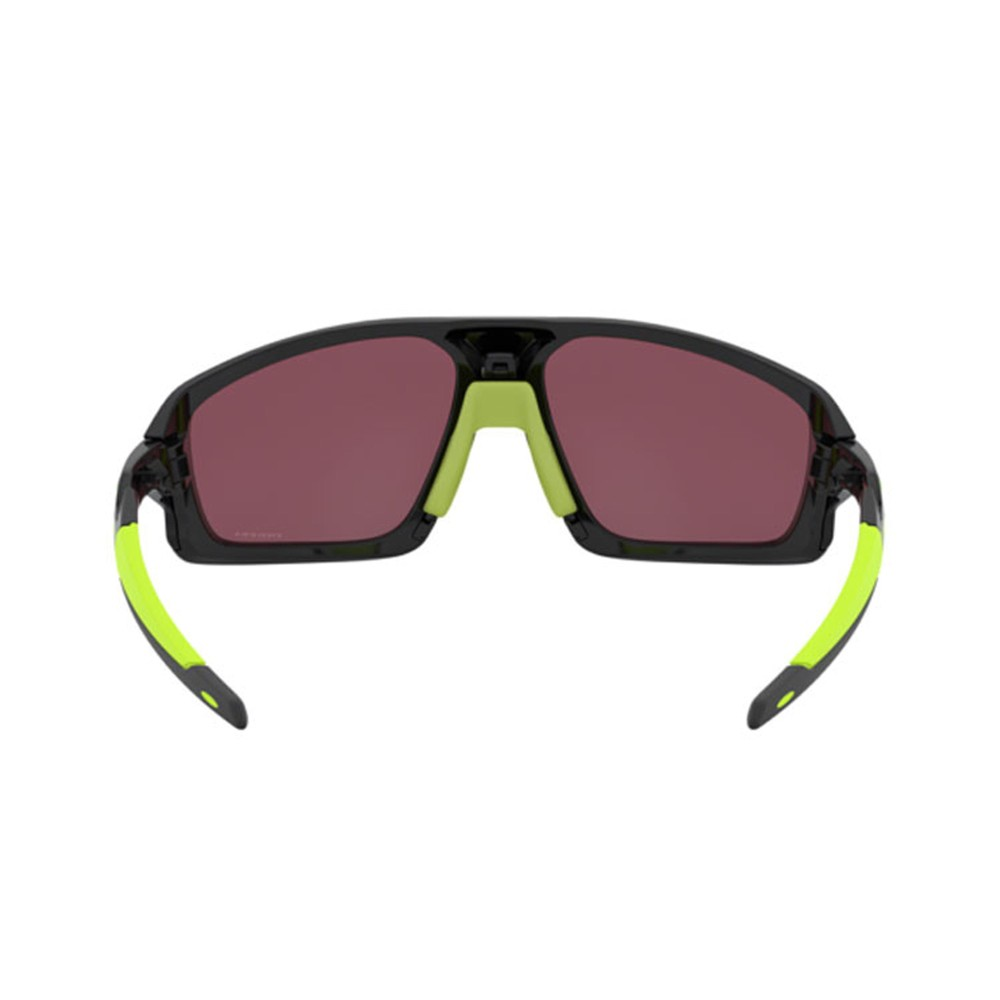 Oakley Field Jacket Sunglasses Ignite with Prizm Red Black Lens