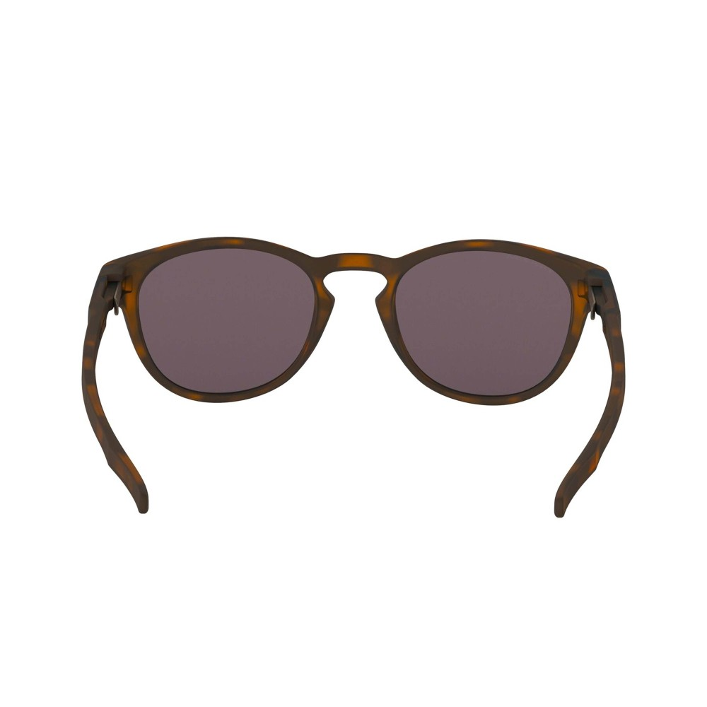 Oakley Latch Sunglasses Matte Brown Tortoise with Prizm Grey Lens