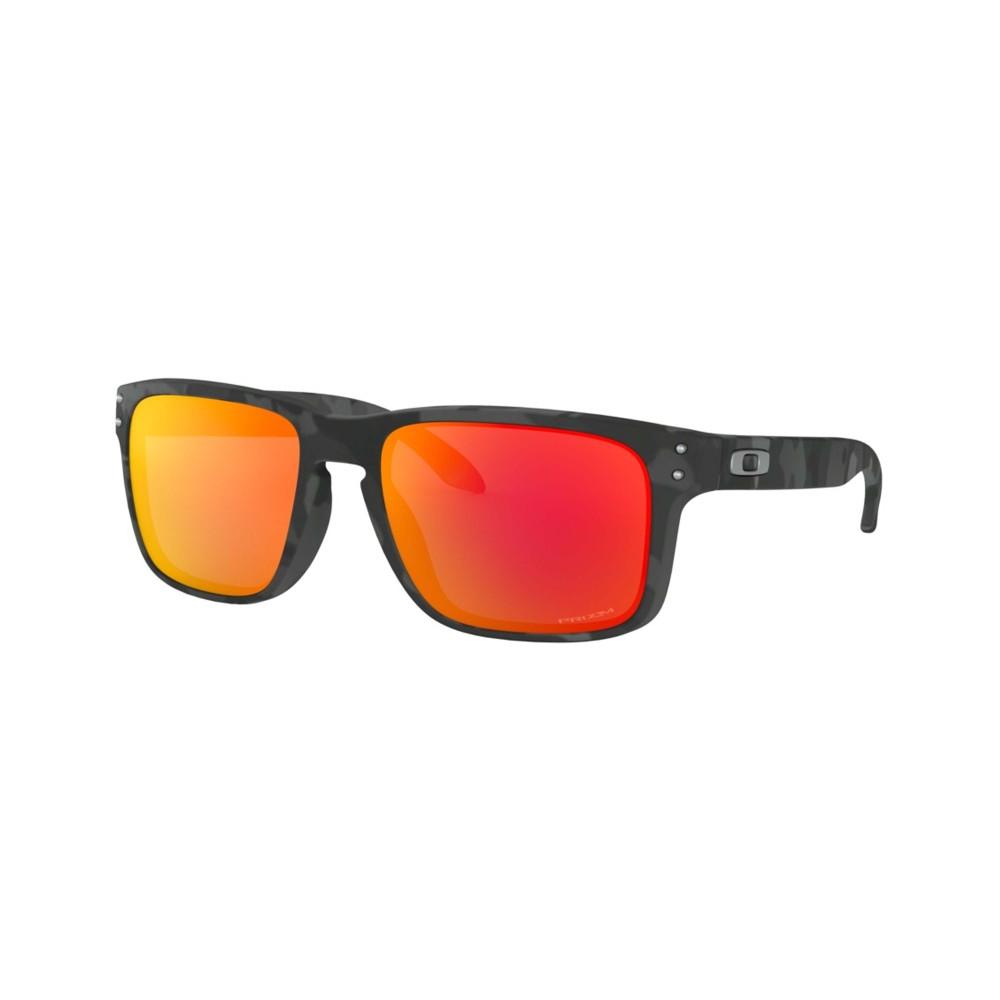 Oakley Holbrook Sunglasses Black Camo with Prizm Ruby Lens