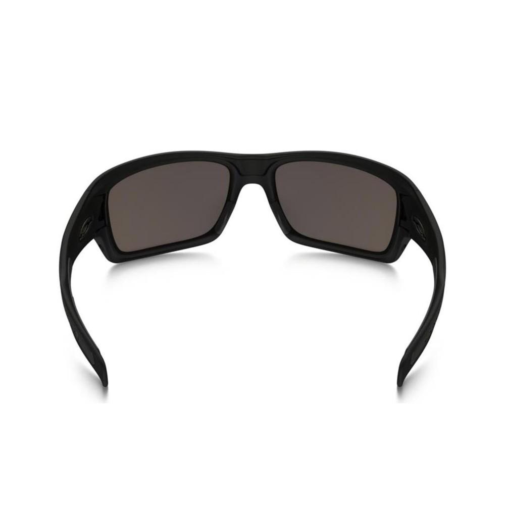 Oakley Turbine XS Sunglasses Matte Black with Warm Grey Lens