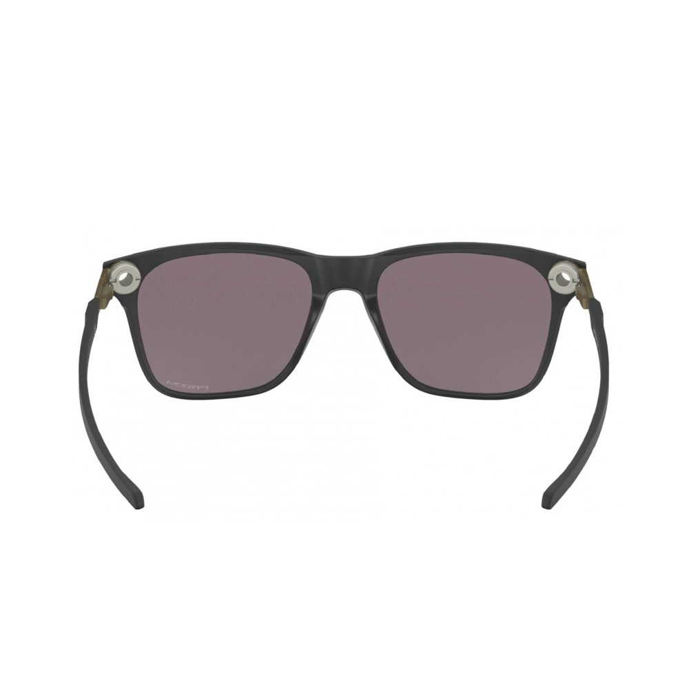 Oakley Apparition Sunglasses Satin Concrete with Prizm Black Lens