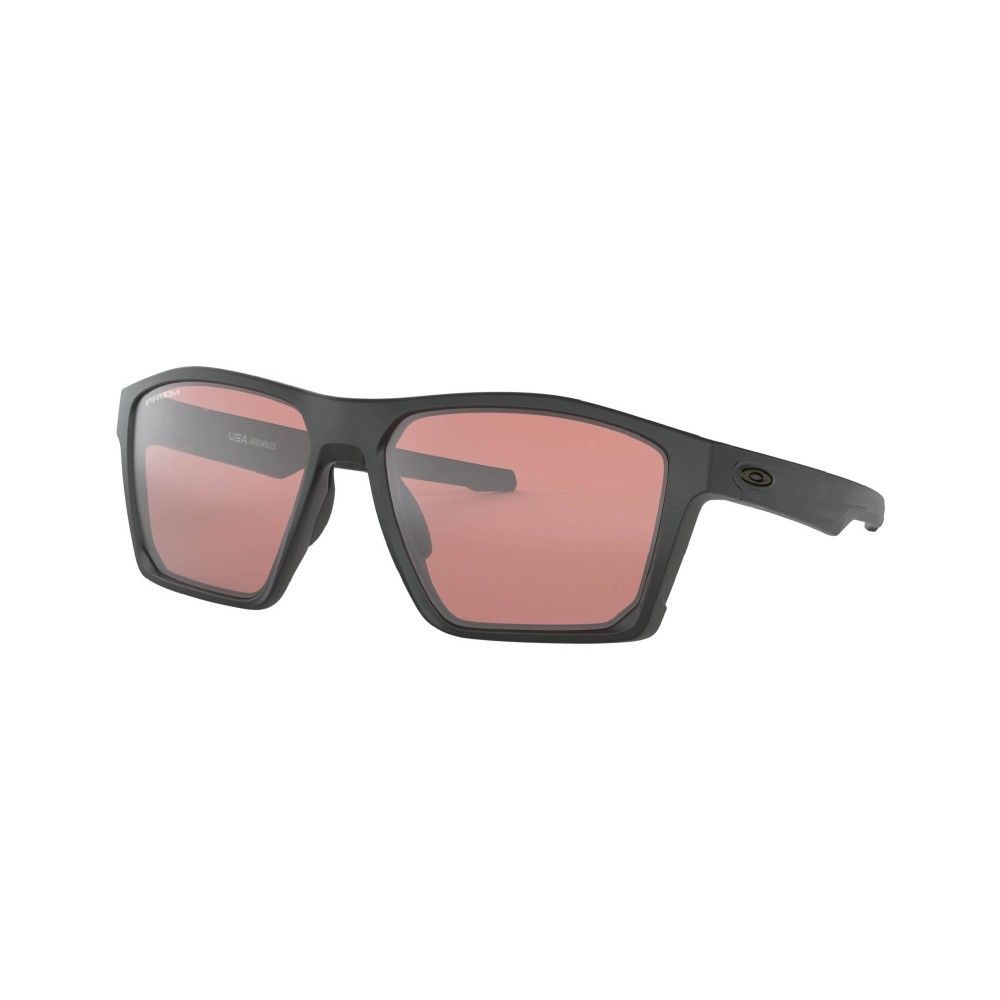 Oakley Targetline Sunglasses Matte Black with Prizm Dark Golf Lens