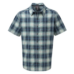 Sherpa Manang SS Shirt Mens in Raja Blue