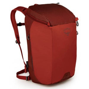 Osprey Transporter Zip in Ruffian Red