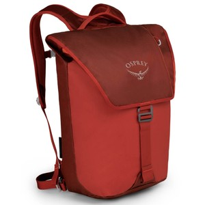 Osprey Transporter Flap in Ruffian Red