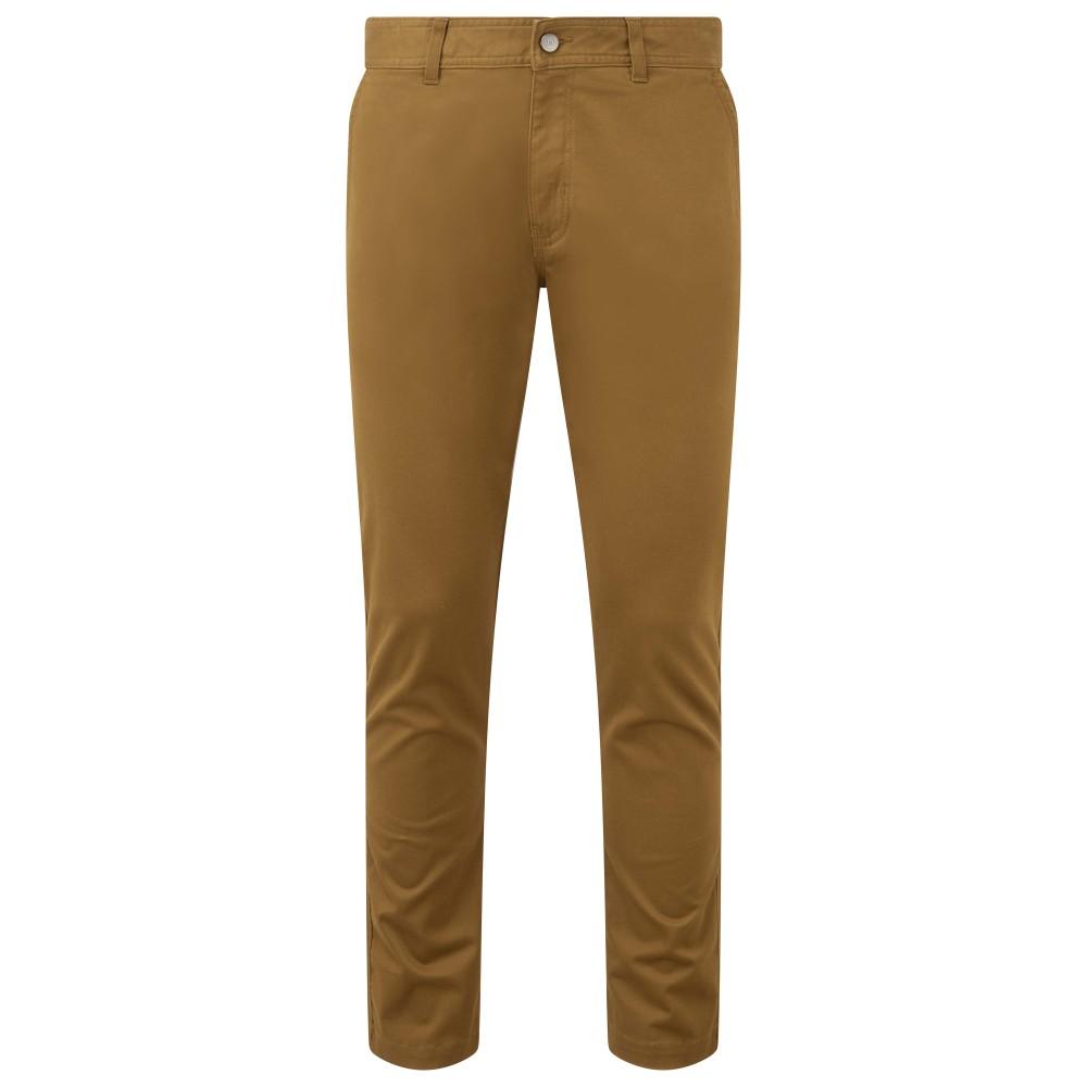 tentree Yale Pant Mens Rubber Brown