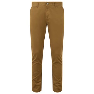 tentree Yale Pant Mens in Rubber Brown