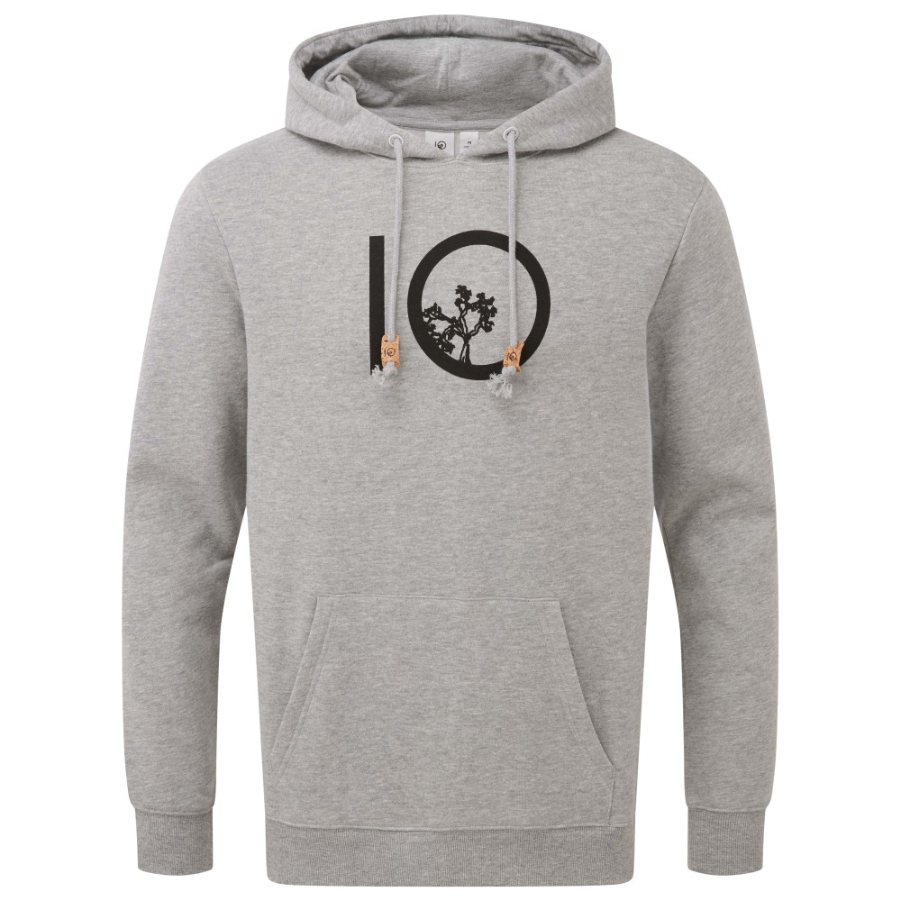 tentree ten Hoodie Mens Hi Rise Grey Heather