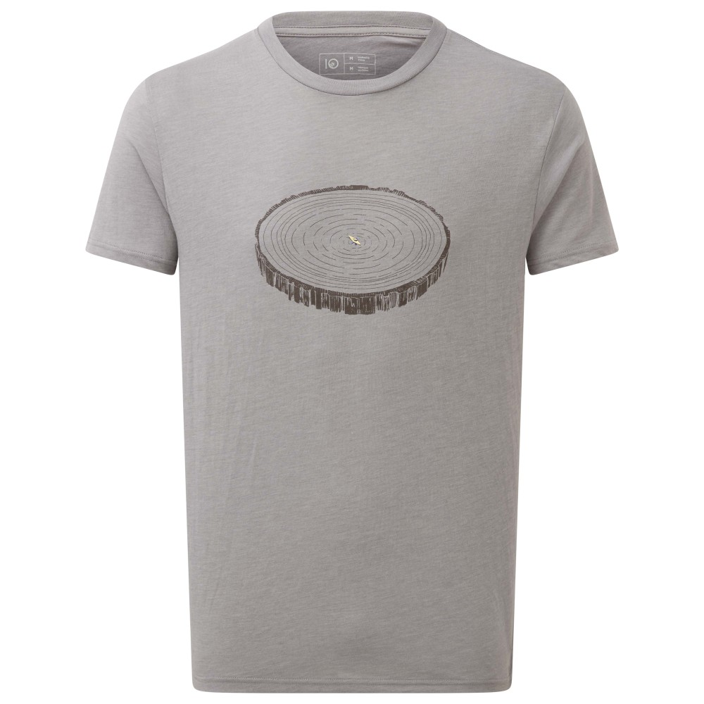 tentree Coaming SS Tee Mens Hi Rise Grey Heather