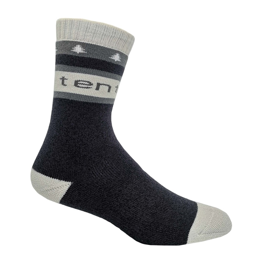 tentree Selkirk Knit Sock Aubergine Purple