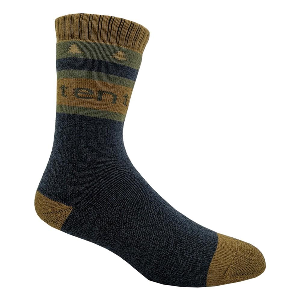 tentree Selkirk Knit Sock Dark Ocean Blue