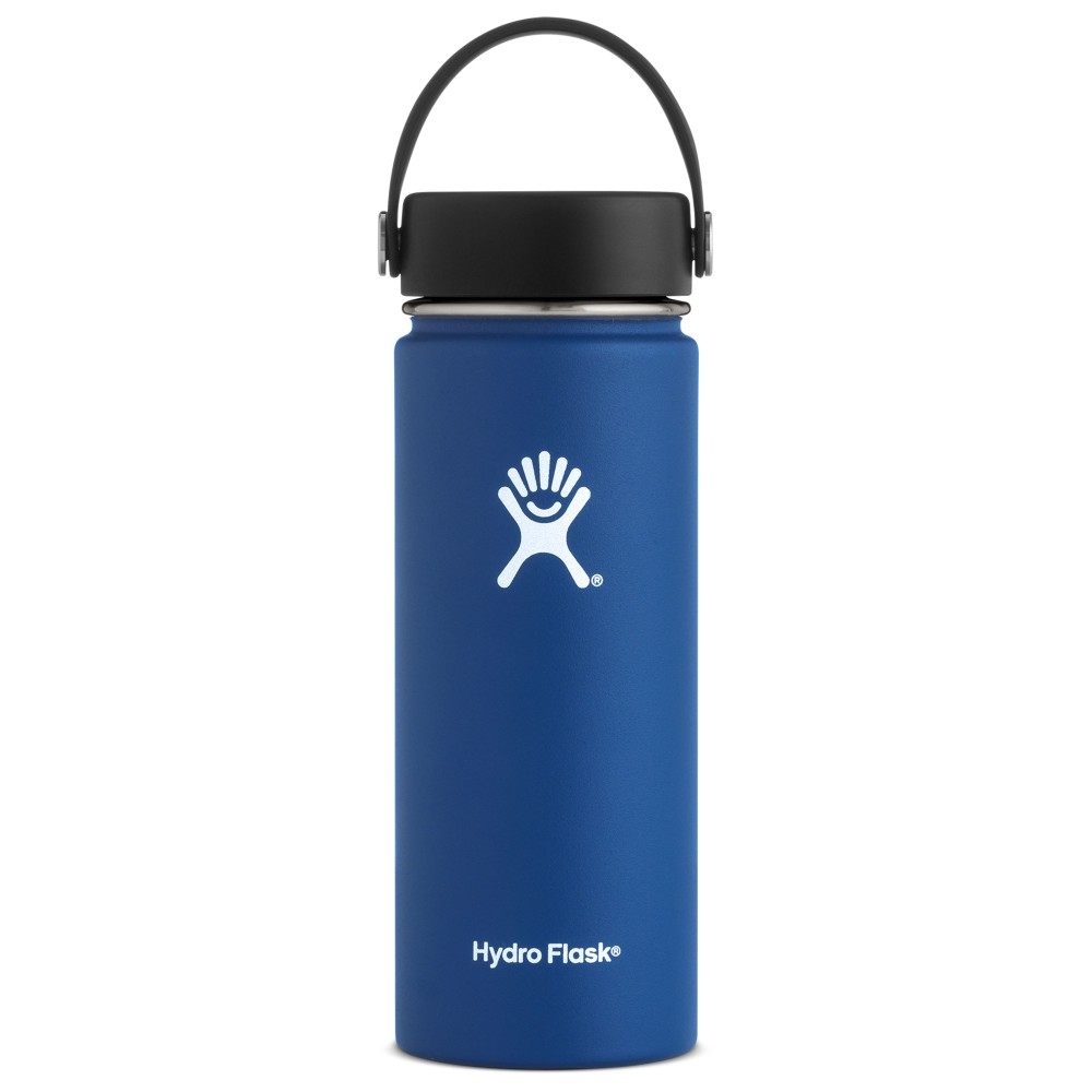 Hydro Flask 18oz Wide Mouth w/Flex Cap Cobalt