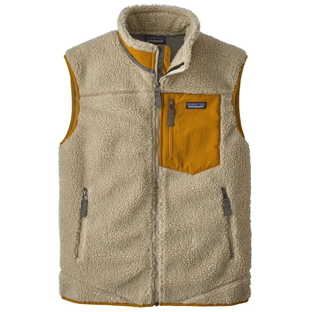 Patagonia Classic Retro-X Vest Men's Pelican w/Wren Gold