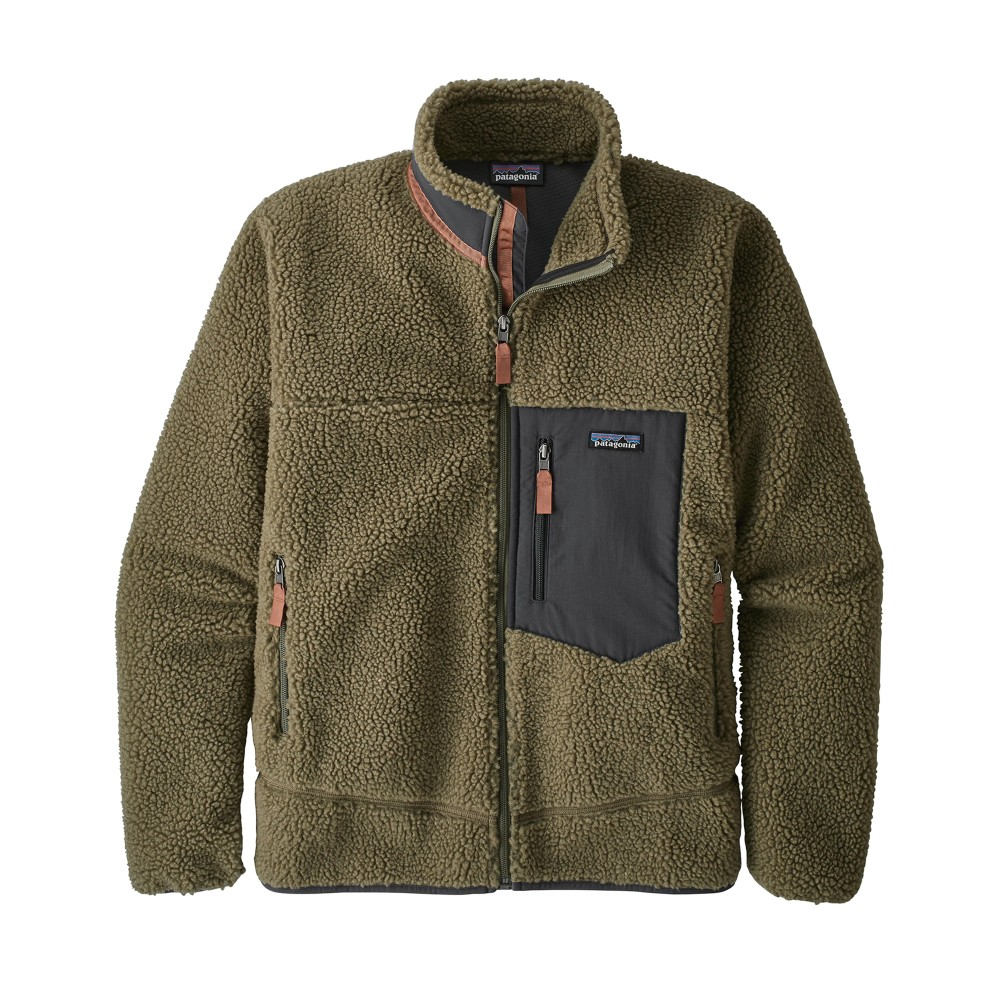 Patagonia Classic Retro-X Jacket Mens Sage Khaki