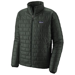 Patagonia Nano Puff Jacket Mens in Carbon