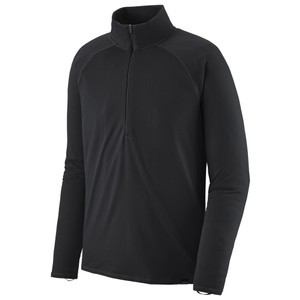 Patagonia Cap MW Zip Neck Mens in Black