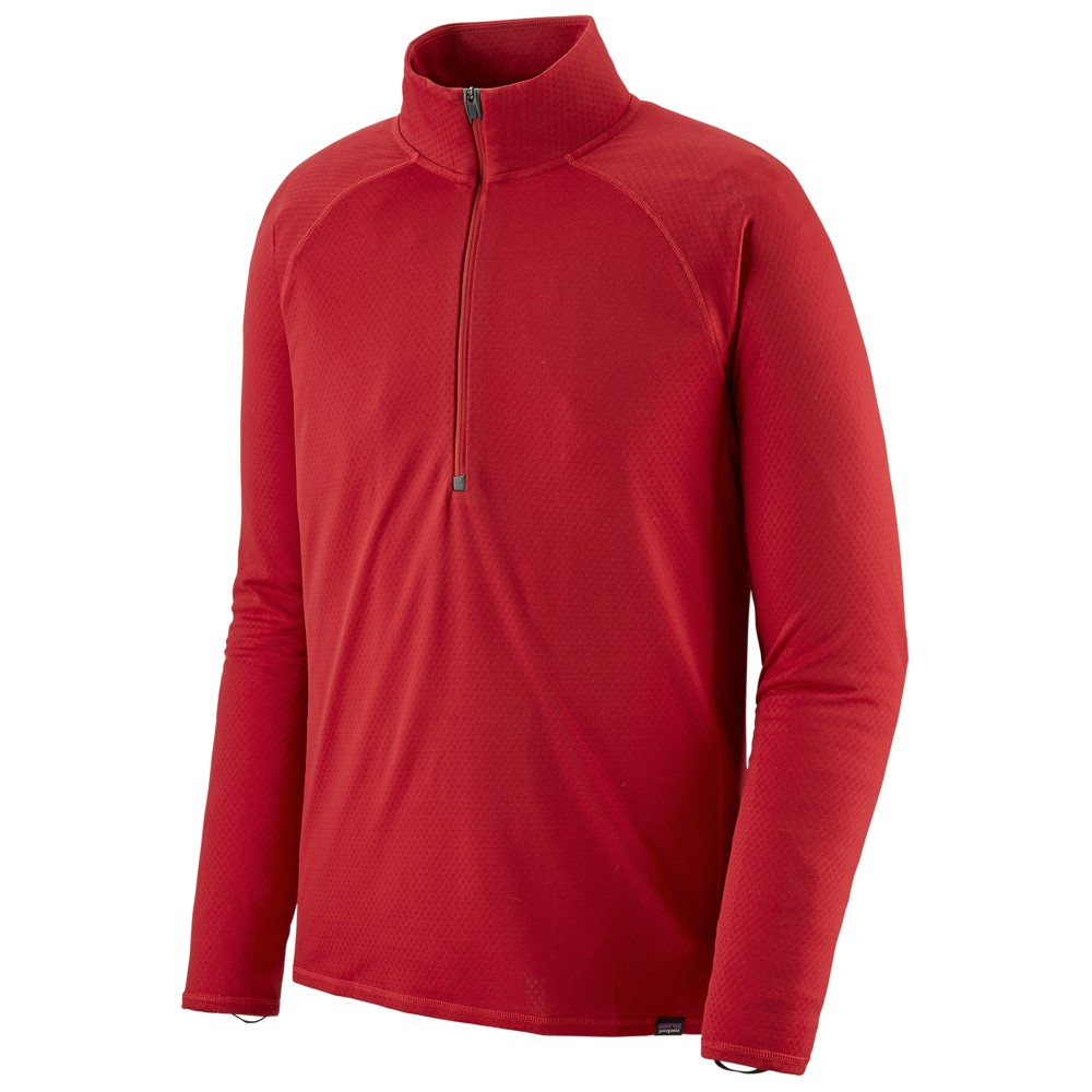 Patagonia Cap MW Zip Neck Mens Fire Red