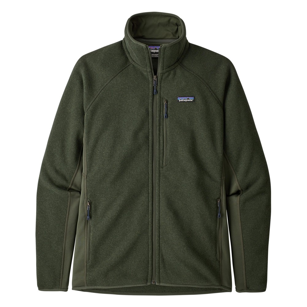 Patagonia Performance Better Sweater Jacket Mens Alder Green