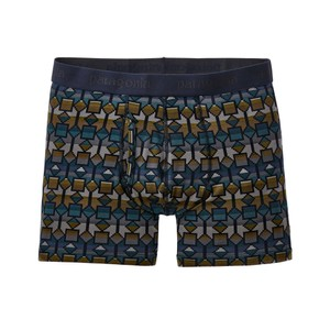 Patagonia Essential Boxer Briefs 3 in Mens in Cedar Mesa:Neo Navy