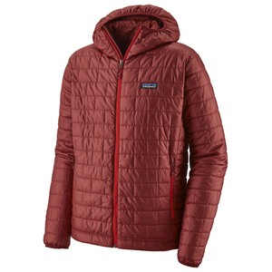 Patagonia Nano Puff Hoody Mens in Oxide Red