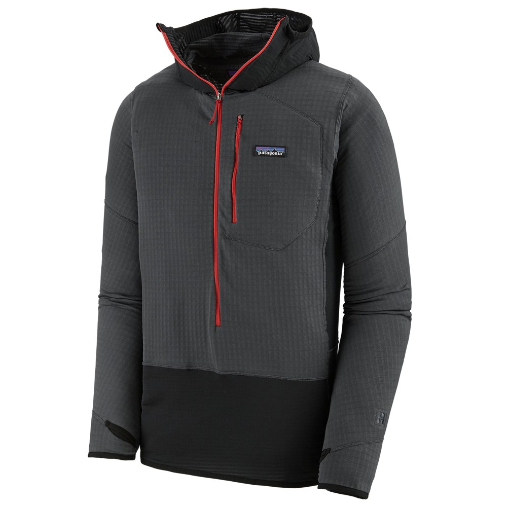 Patagonia R1 Pullover Hoody Mens Forge Grey