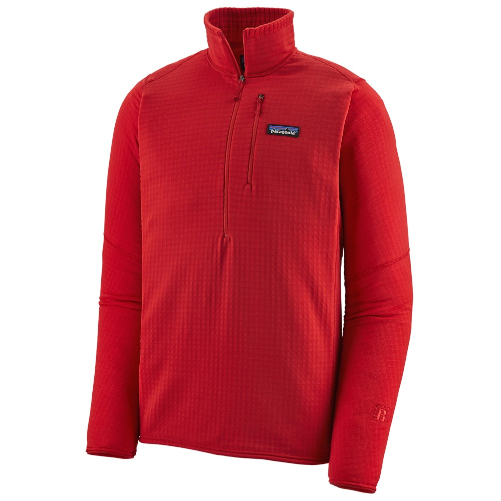 Patagonia R1 Pullover Mens Fire