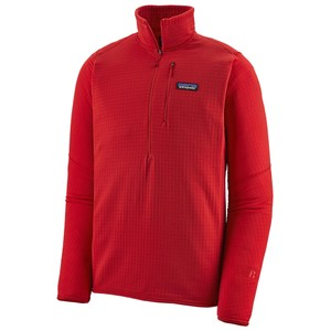 Patagonia R1 Pullover Mens in Fire