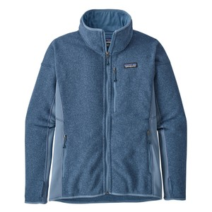 Patagonia Performance Better Sweater Jacket Womens in Woolly Blue