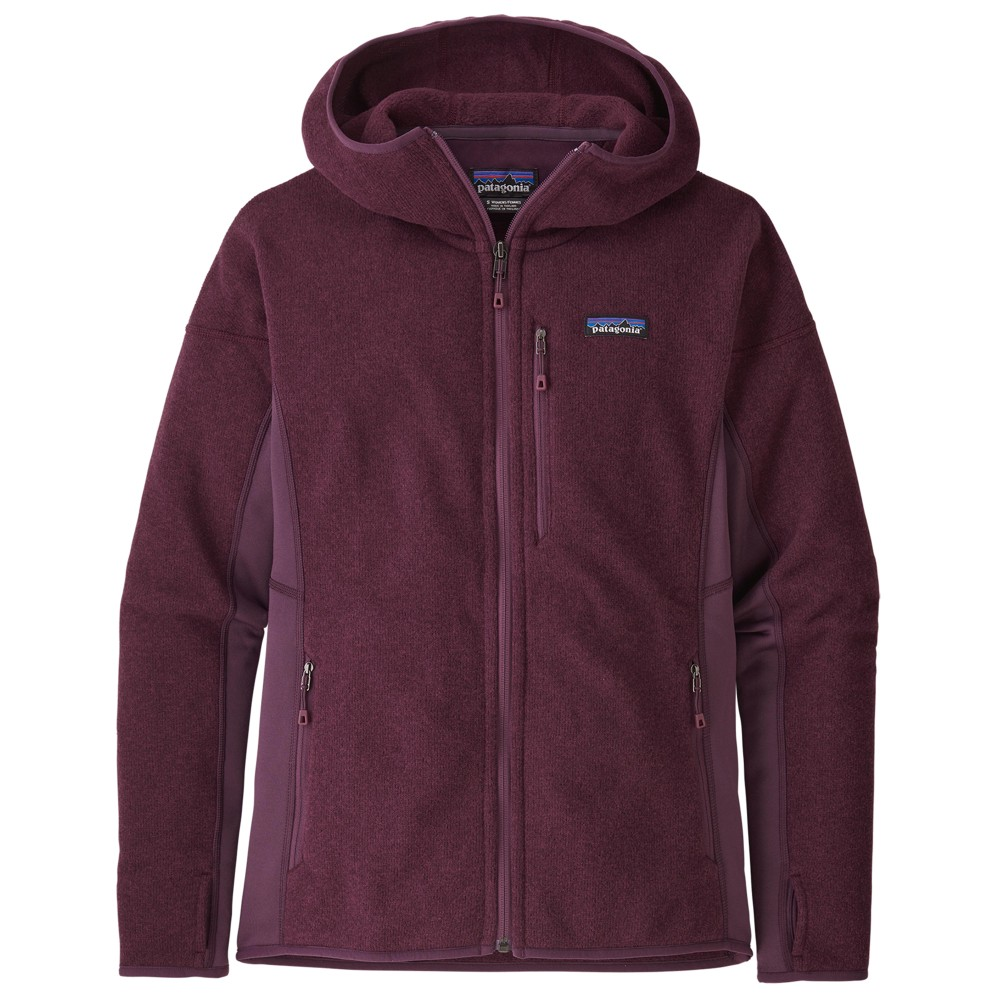 Patagonia Performance Better Sweater Hoody Womens Light Balsamic