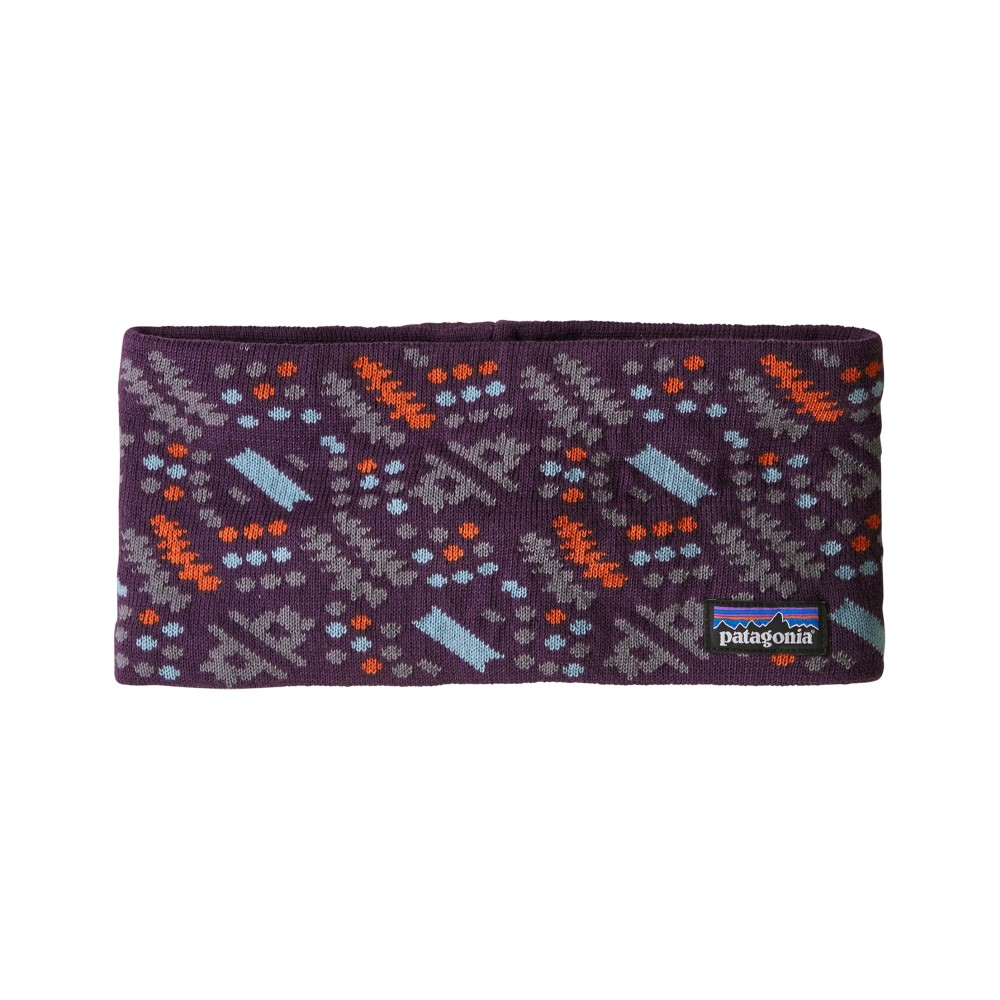 Patagonia Lined Knit Headband Icefall Band:Deep Plum
