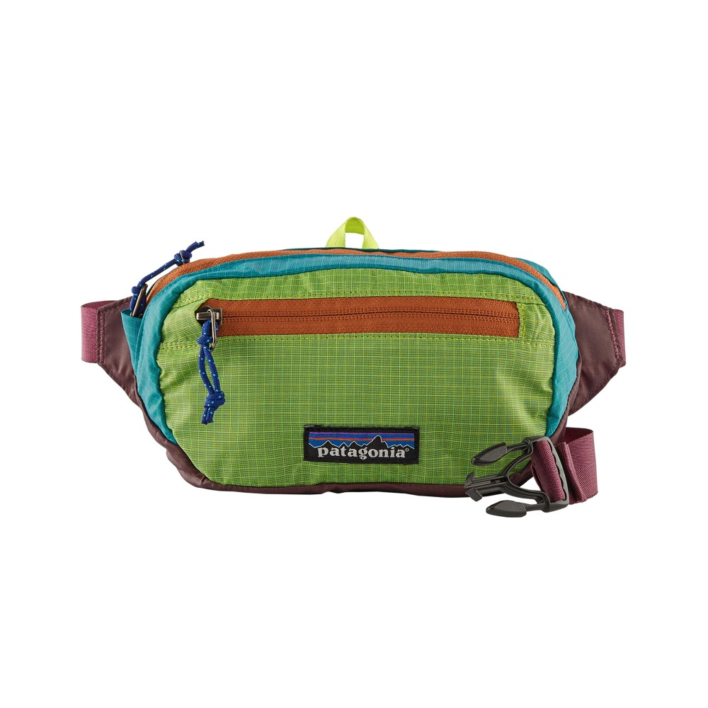 Patagonia UL Black Hole Mini Hip Pack Patchwork:Peppergrass Green