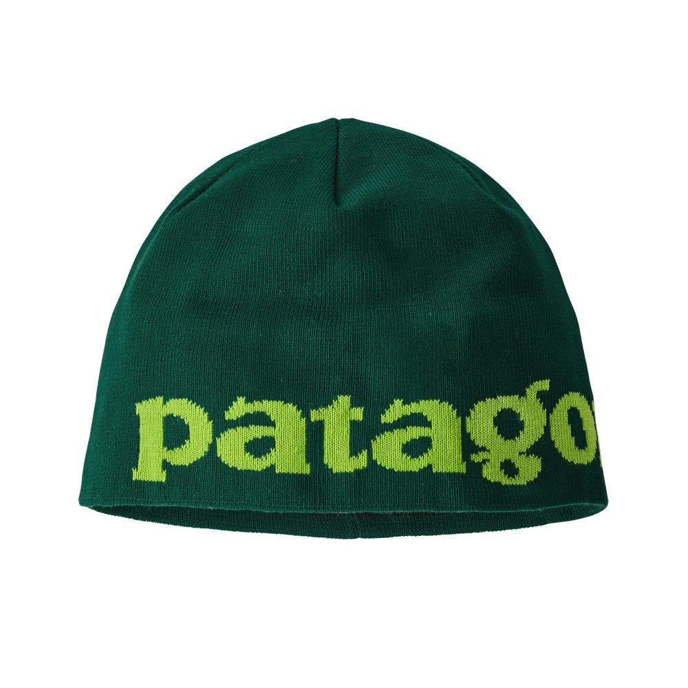 Patagonia Beanie Hat Logo Belwe:Piki Green