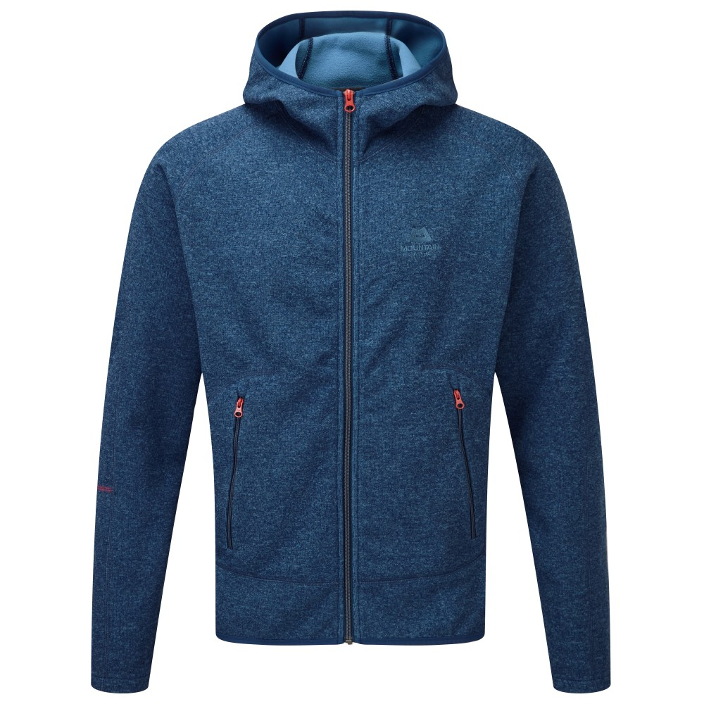 Mountain Equipment Kore Hooded Jacket Mens Denim Blue