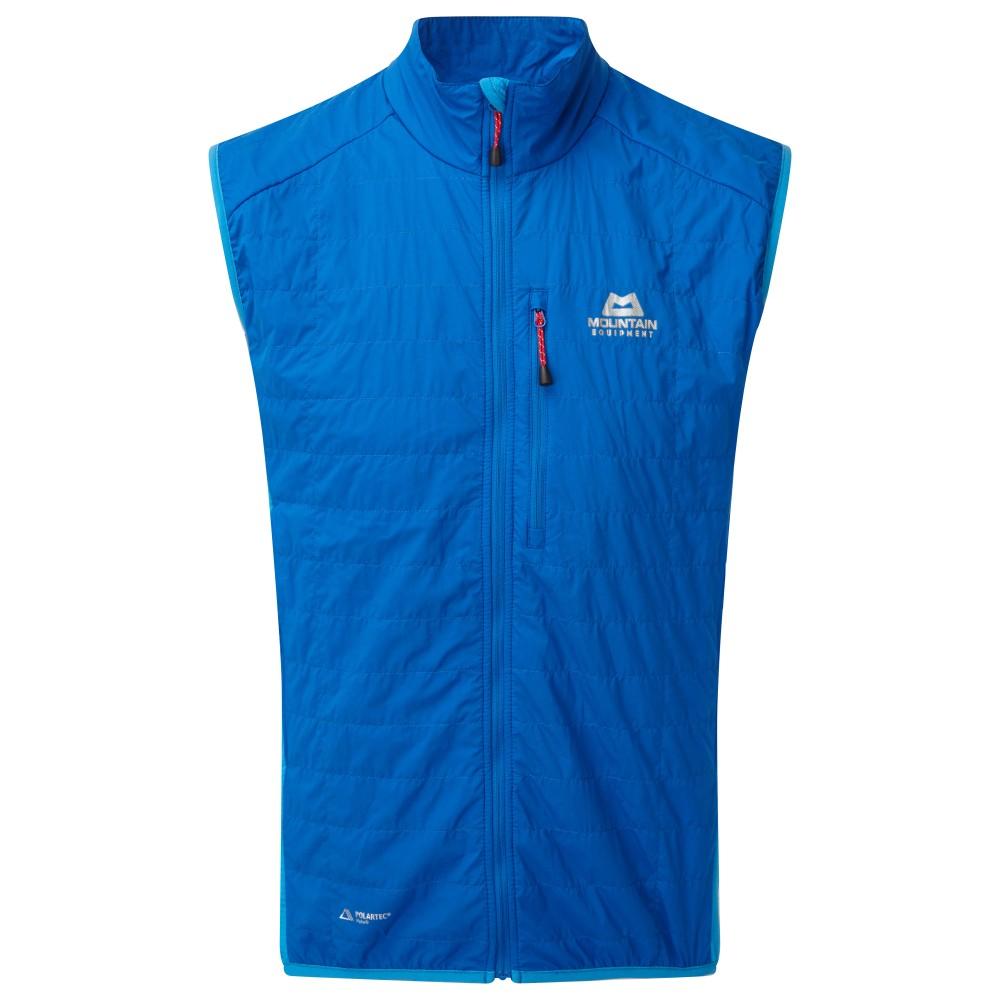 Mountain Equipment Switch Vest Mens Lapis Blue/Finch Blue