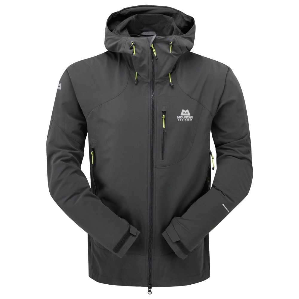 Mountain Equipment Frontier Hooded Jacket Mens Raven