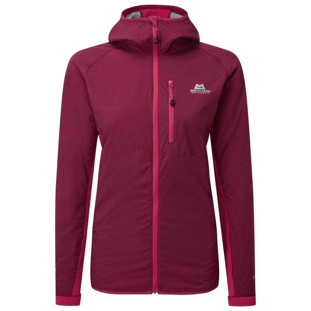 Mountain Equipment Switch Pro Hooded Jacket Womens Cranberry/Virtual Pink