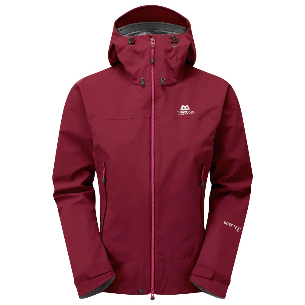 Mountain Equipment Shivling Jacket Womens Cranberry