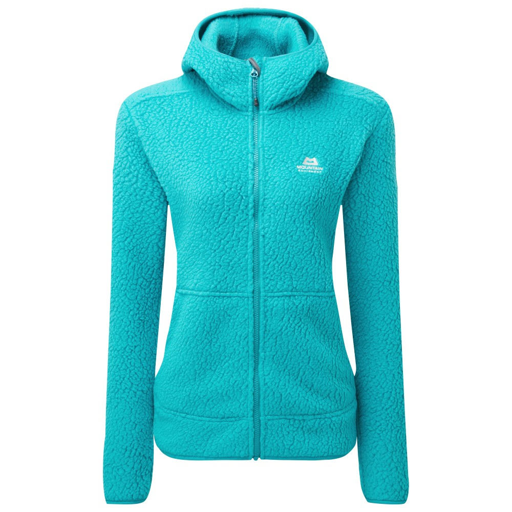 Mountain Equipment Moreno Hooded Jacket Womens Pool Blue