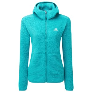 Mountain Equipment Moreno Hooded Jacket Womens in Pool Blue