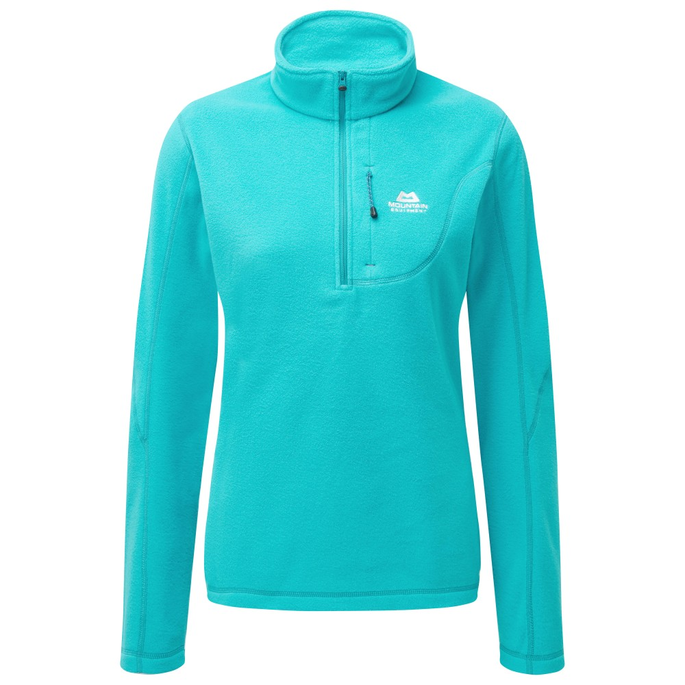 Mountain Equipment Micro Zip T Womens Pool Blue
