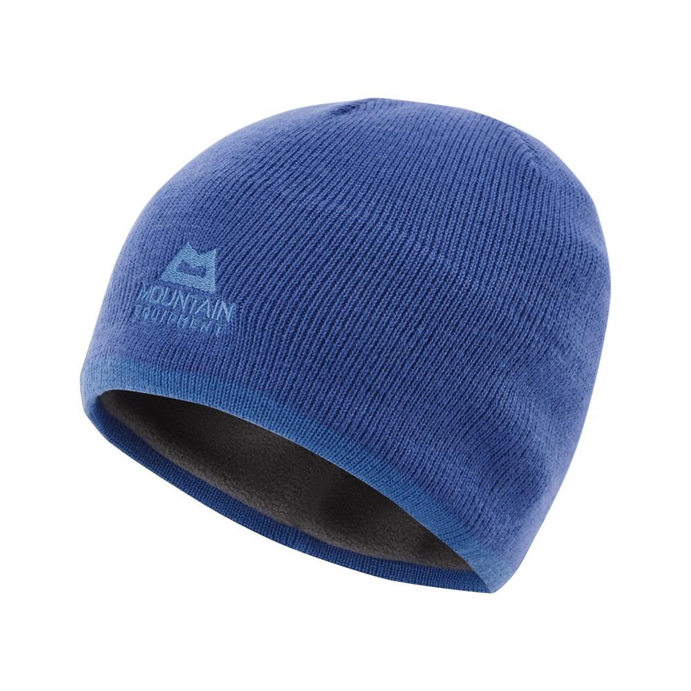 Mountain Equipment Plain Knitted Beanie Mens Lapis Blue/Finch Blue