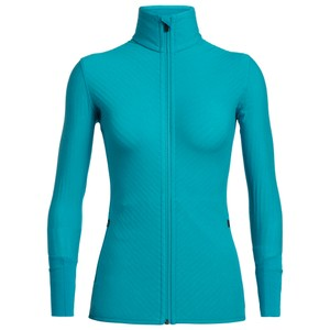 Icebreaker Descender LS Zip Womens