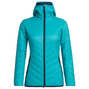 Icebreaker Hyperia Hooded Jacket Womens