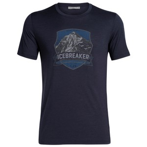 Icebreaker Tech Lite SS Crewe Everest Crest Mens